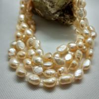 121. Náhrdelník říční perla 120 cm.