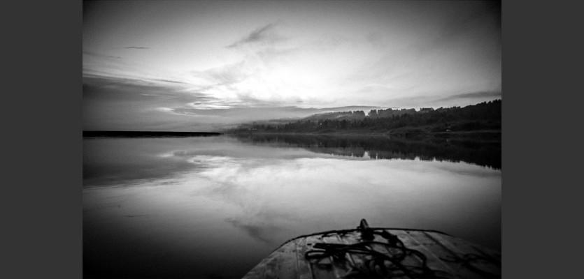 Řeka Angara - Motygino