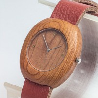 Dřevěné hodinky Club Třešeň - V.Č.: 00092