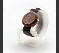 Dřevěné hodinky Jas Třešeň V.Č.: 00004