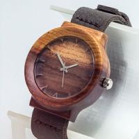 Dřevěné hodinky Scala Švestka - V.Č.: 00150