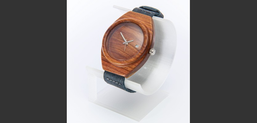Dřevěné hodinky Aladin Slivoň Bluma - V.Č.: 00153