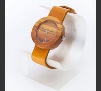 Dřevěné hodinky Alfa Višeň - V.Č.: 00173