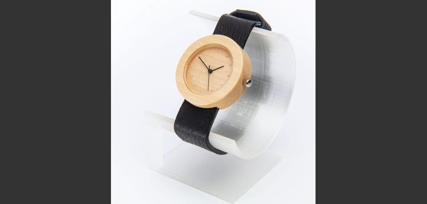 Dřevěné hodinky Alfa Habr - V.Č.: 00164