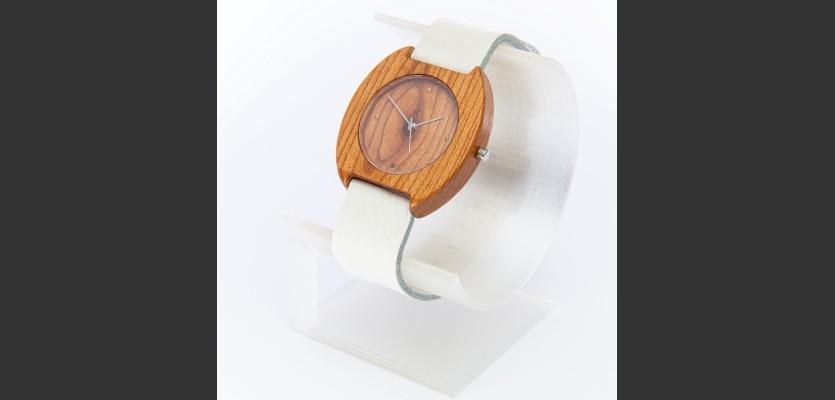 Dřevěné hodinky Avia Třešňové - V.Č.: 00072
