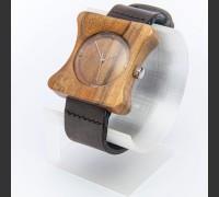 Dřevěné hodinky Edison Ořechové - V.Č.: 00083