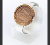 Dřevěné hodinky Excelsior Ořechové - V.Č.: 00085