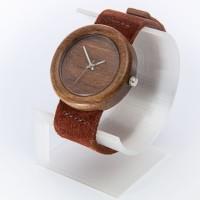 Dřevěné hodinky Orania Ořechové - V.Č.: 00132