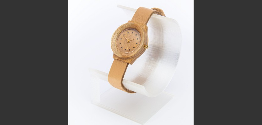 Dřevěné hodinky Union Akát - V.Č.: 00160