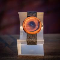 Dřevěné hodinky Alfa Jabloň - V.Č.: 00059