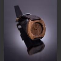 Dřevěné hodinky Avia Ořech - V.Č.: 00070