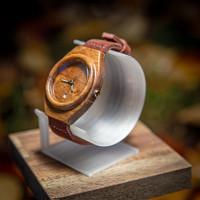 Dřevěné hodinky Aladin Ořech - V.Č.: 00130