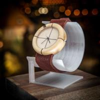 Dřevěné hodinky Orania Habr - V.Č.: 00134