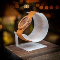 Dřevěné hodinky Alfa Akát - V.Č.: 00137