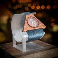 Dřevěné hodinky Lucerna Slivoň Bluma - V.Č.: 00140