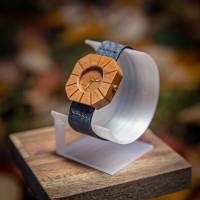 Dřevěné hodinky Art Hruška - V.Č.: 00146