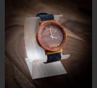 Dřevěné hodinky Scala Slivoň Bluma - V.Č.: 00148
