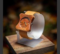Dřevěné hodinky Edison Slivoň Bluma - V.Č.: 00151
