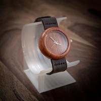 Dřevěné hodinky Jas Slivoň Bluma V.Č.: 00154