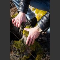 Dřevěné hodinky Scala Habr - V.Č.: 00159