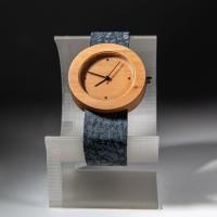 Dřevěné hodinky Alfa Hruška - V.Č.: 00165