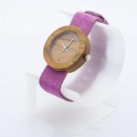 Dřevěné hodinky Alfa Višeň - V.Č.: 00174