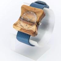 Dřevěné hodinky Edison Ořechové - V.Č.: 00182