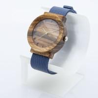 Dřevěné hodinky Scala Ořech - V.Č.: 00186