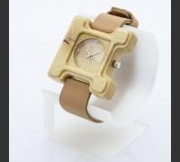 Dřevěné hodinky Hercule Poirot Habr - V.Č.: 00191