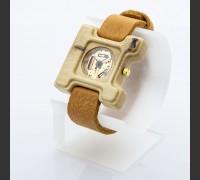 Dřevěné hodinky Hercule Poirot Habr - V.Č.: 00192