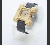 Dřevěné hodinky Hercule Poirot Habr - V.Č.: 00193