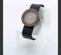 Dřevěné hodinky Alfa Ořechové - V.Č.: 00195