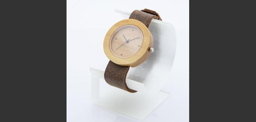 Dřevěné hodinky Jalta Habr - V.Č.: 00200
