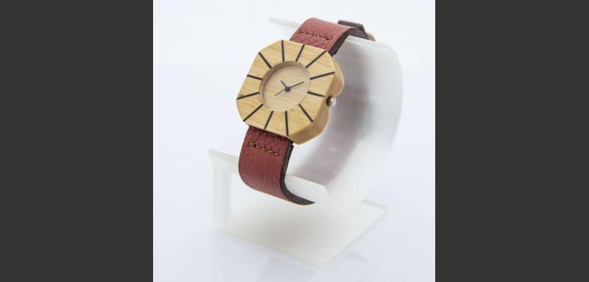Dřevěné hodinky Art Habr - V.Č.: 00203