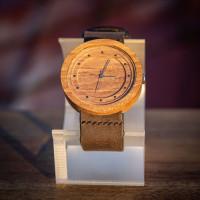Dřevěné hodinky Excelsior Ořechové - V.Č.: 00086