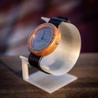 Dřevěné hodinky Orania Ořechové - V.Č.: 00097