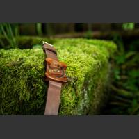Dřevěné hodinky Edison Švestkové - V.Č.: 00101