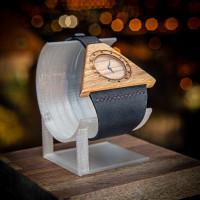 Dřevěné hodinky Lucerna Ořechové - V.Č.: 00109