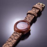 Dřevěné hodinky Empire Švestkové - V.Č.: 00111