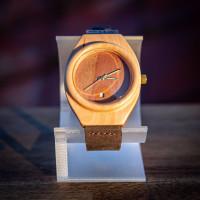 Dřevěné hodinky Aladin Habrovotřešňové - V.Č.: 00113