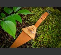 Dřevěné hodinky Lucerna Akátové - V.Č.: 00122