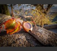 Dřevěné hodinky Rio Třešňové - V.Č.: 00055