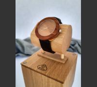 Dřevěné hodinky Jalta Švestkové - V.Č.: 00057