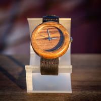 Dřevěné hodinky Orania Ořechové - V.Č.: 00080