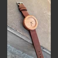 Dřevěné hodinky Orania Třešňové - V.Č.: 00083