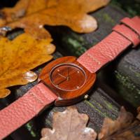 Dřevěné hodinky Avia Švestkové - V.Č.: 00074