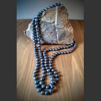 26. Náhrdelník Modrá říční perla