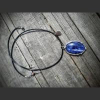 229. Náhrdelník Modrý Sodalit