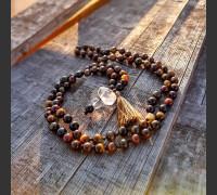 Náhrdelník Boho Mala, silný ochranný talisman.