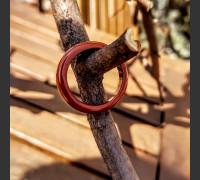 86. Prsten z Jaspisu červeného, ochránce pro každý den.